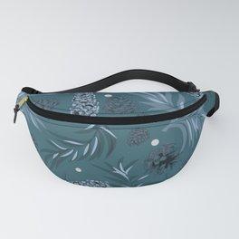 #Christmas #Pattern #Pine #Snow 15 Fanny Pack