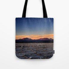 Sunset in Atacama Tote Bag