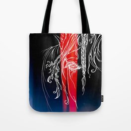 Delicate-Red Tote Bag