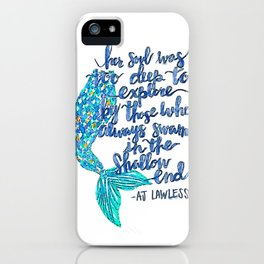 Shallow iPhone Case