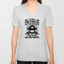 Firefighter Fire Department Fire Gift Unisex V-Neck