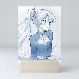 RWBY Weiss Schnee Mini Art Print