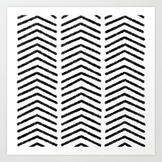 Graphic_Black&White #4 Art Print