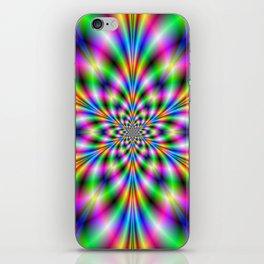 Star in Neon Lights iPhone Skin