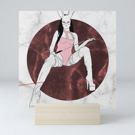 Painful Pink Mini Art Print