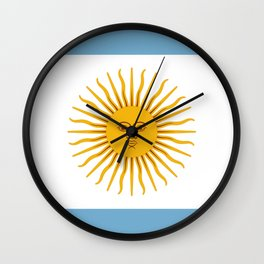 Argentina Wall Clock
