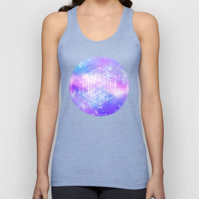Sacred Geometry (Universal Consciousness) Unisex Tank Top