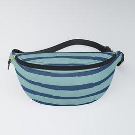 Reflecting Pool Blue Stripe Fanny Pack