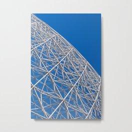 Biosphere Mesh Metal Print