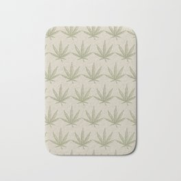 Weed Leaf Bath Mat