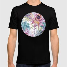 FLOWERS WATERCOLOR 19 T-shirt