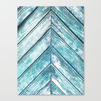 wooden Canvas Prints featuring WOODEN by Sorbetedelimon