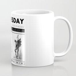WEDNESDAY & THE MYTH BEHIND IT Coffee Mug