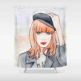Miss P. Shower Curtain