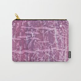 Purple marble wash drawing Carry-All Pouch
