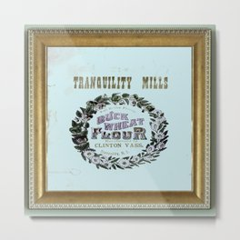 flour power: tranquility mills Metal Print