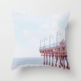 Santa Monica California Throw Pillow