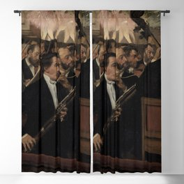 Edgar Degas - L'Orchestre de l'Opéra.jpg Blackout Curtain