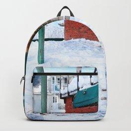 Winter in Gatineau, Quebec Backpack