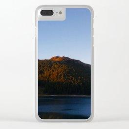 Sunset at Lake Tekapo 2 Clear iPhone Case