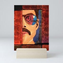 Freddie Killer Queen Mercury Portrait Mini Art Print