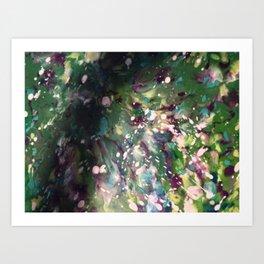 Splatter #1  Art Print