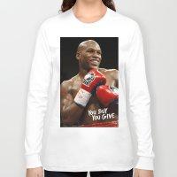 floyd Long Sleeve T-shirts featuring Floyd #1 by YBYG