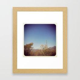 Power Lynes Framed Art Print