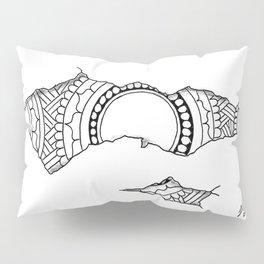 Ripped Mandala Pillow Sham