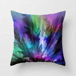 Rainbow colors. Throw Pillow