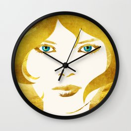 24 Karat Babe Wall Clock