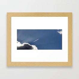 Sky Knight Framed Art Print