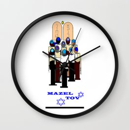 A Mazel Tov, Bar Mitzvah Wall Clock