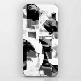 Circle Glitch iPhone Skin