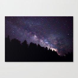 Galaxy Risen Canvas Print