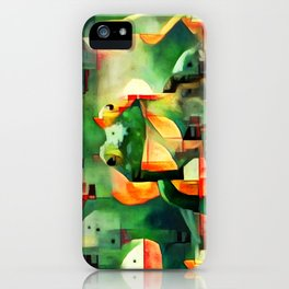 Ree Deep Rock iPhone Case