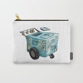 Blue Paletero Ice Cream Cart Carry-All Pouch