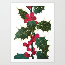 Holly  Art Print