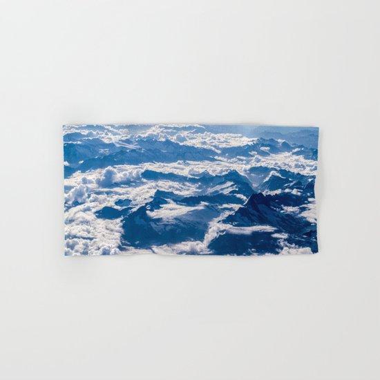 Misty Mountains Below Hand & Bath Towel