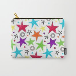 cute colourful stars Carry-All Pouch