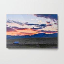 Minivan Metal Print