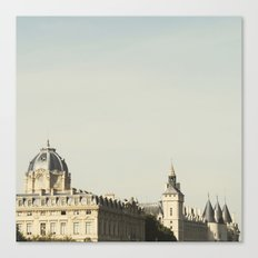 Seine - Paris Photography Canvas Print
