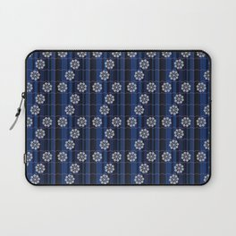 Traditional Japanese pattern MIZU-GURUMA Laptop Sleeve