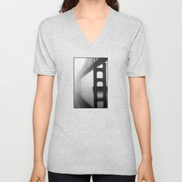 Savanna-Sabula Bridge Unisex V-Neck