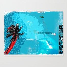 TSUNAMI Canvas Print
