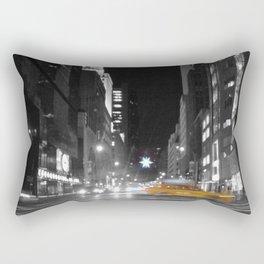 Holiday Season in New York City -a- Rectangular Pillow