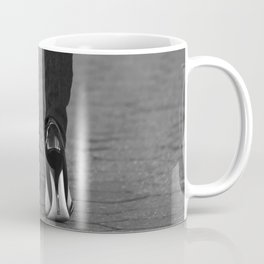 Excess Black and White Coffee Mug