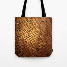paving stone gold Tote Bag