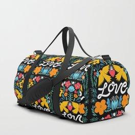 Love bird garden Duffle Bag