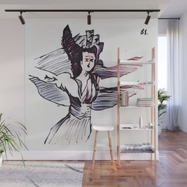 Los Caprichos ~ 61 ~ They Have Flown Wall Mural